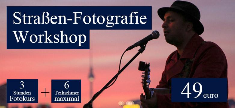 Straßen-Fotografie-Workshop