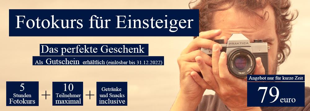 GH Fotoschule: Einstegier Fotokurs in Berlin
